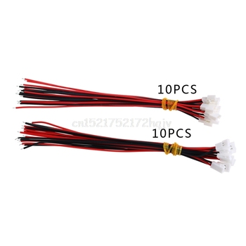 10 Pairs DIY JST DS LOSI 2.0 MM 2 Pin Connector Plug Erkek Kadın Tel 150 MM Ile O18 dropship