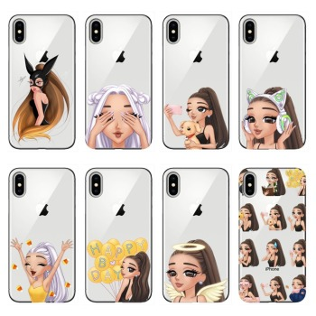 Ariana Grande AG Rainbow Sweetener Coque Soft TPU Phone Case for iphone 5 5S 6 6S Plus 7 8 Plus For iphone X XR XS MAX Cases