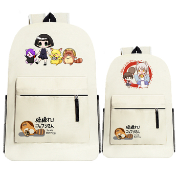 Gugure! Kokkuri-san Ichimatsu Kohina Anime Printing Women Backpack Kawaii School Bags for Teenagers Lolita Girl Laptop Backpack